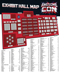 2014 AwesomeCon DC Floormap