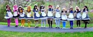 Meet the maids of My Cup of Tea on the Thursday of Anime USA 2014