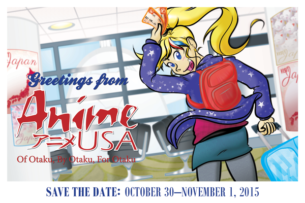 Save The Date For Anime USA 2015